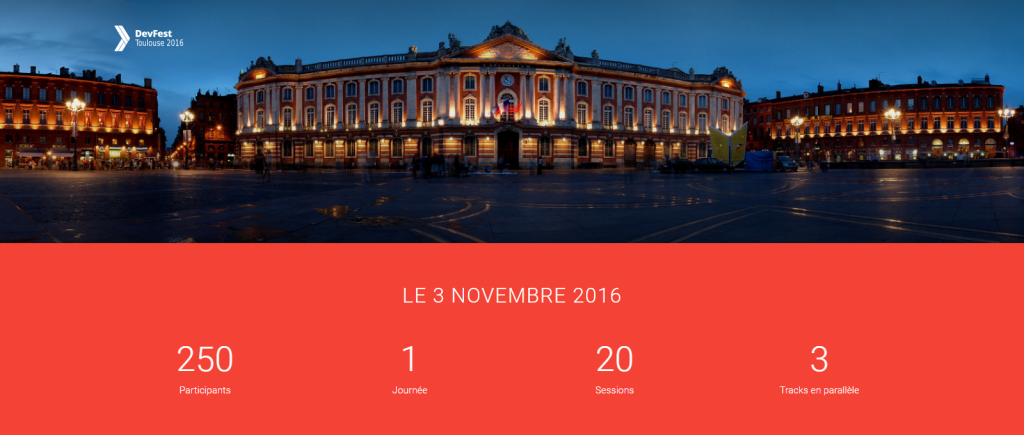 1er DevFest à Toulouse, 11 novembre 2016, DocDoku devient sponsor du DevFest