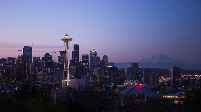 Seattle, siège d'Amazon